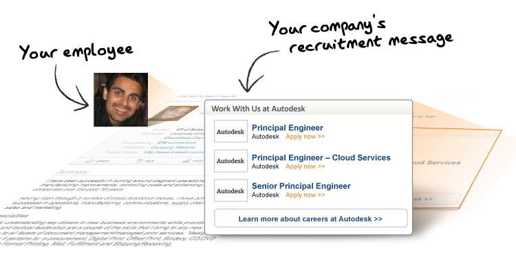 LinkedIn work with us example