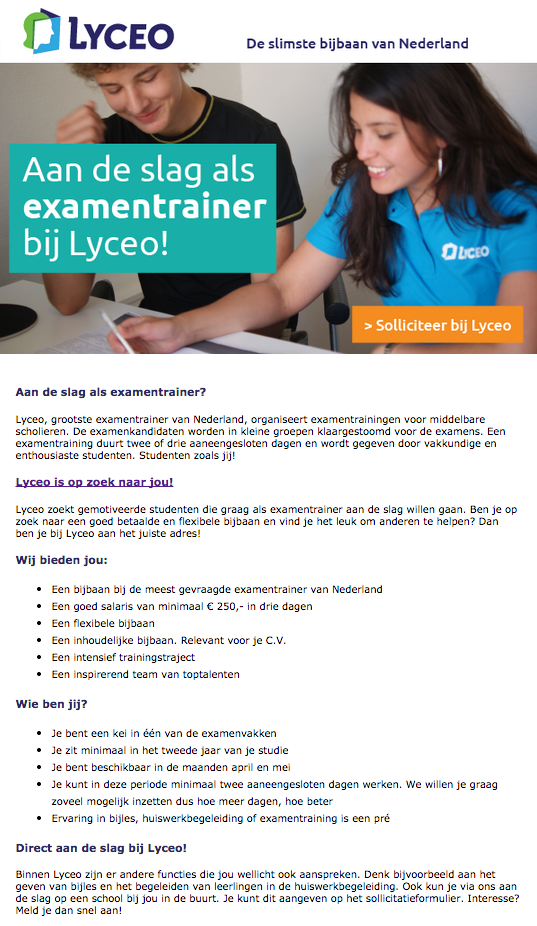 Lyceo Examentrainers
